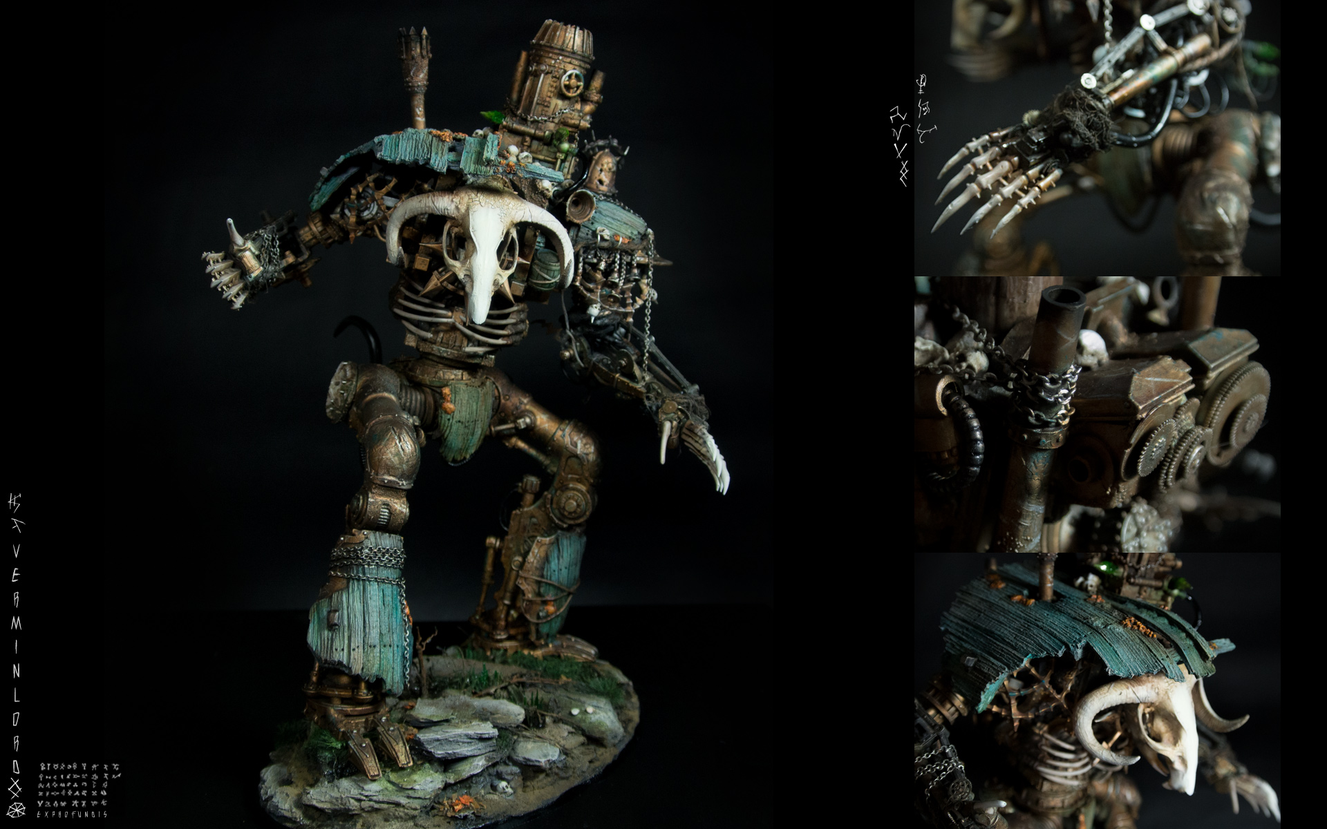 Rattendaemon – Mechanical Skaven Vermin Lord